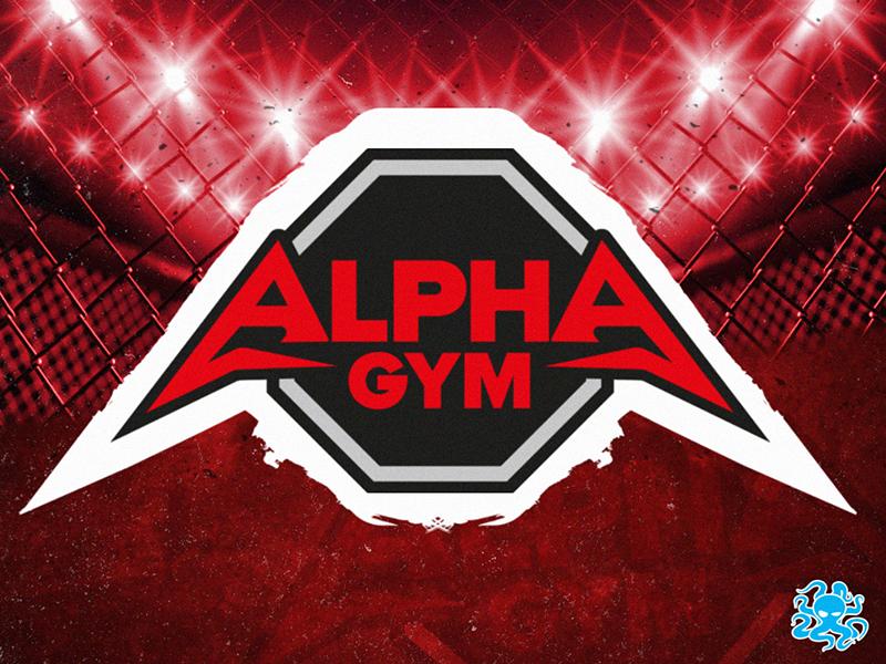Obrázek s logem našeho klienta Alpha Gaym, který odkazuje na naše portfolio.